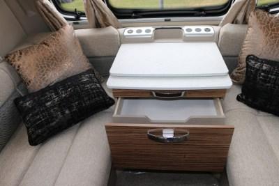 Swift Eccles 480 caravan storage cupboard