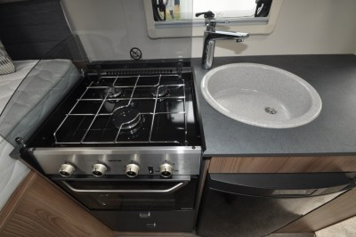 Swift Escape Compact C205 Kitchen work top