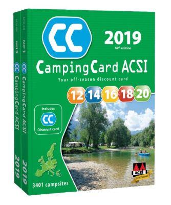 CampingCard ACSI guide 2019