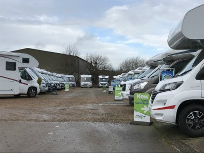 Motorhome dealership