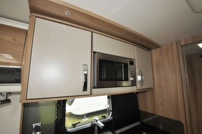 2019 Swift Elegance 560 overhead microwave