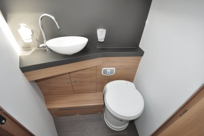 2019 Adria Matrix Supreme 670DC washroom