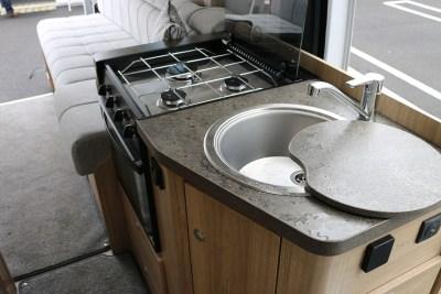 2019 Elddis Autoquest CV20 kitchen