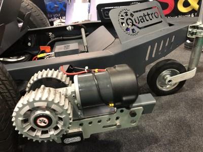 Purpleline Quattro motor mover