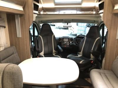 Kabe Travel Master x780 LGB motorhome cab and lounge