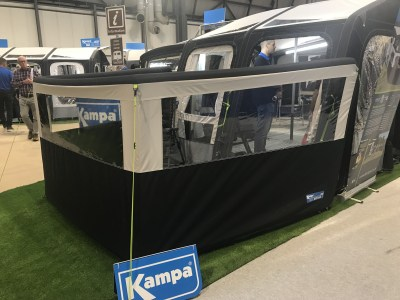 Kampa inflatable awning 3 panel