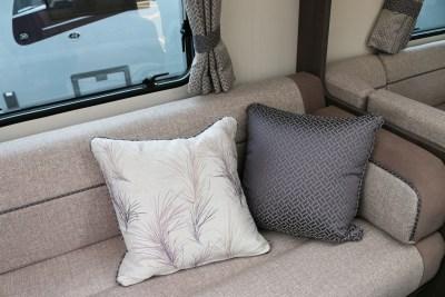 2019 Buccaneer Aruba caravan lounge