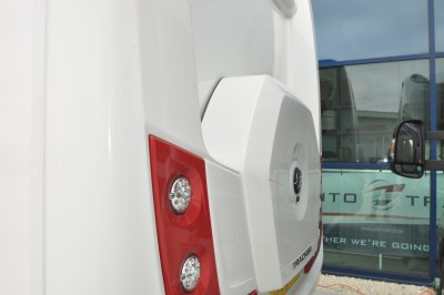 2019 Auto-Trail Tracker EB motorhome spare wheel carrier