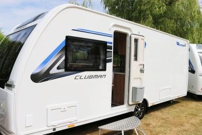 2019 Lunar Clubman SI caravan exterior