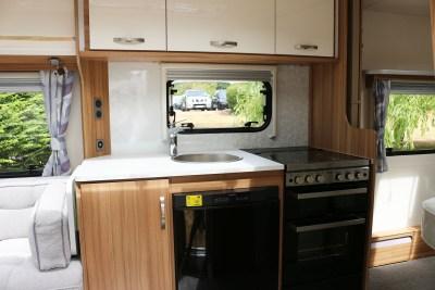 2019 Lunar Clubman SI caravan kitchen
