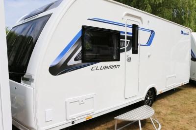 2019 Lunar Clubman SI caravan