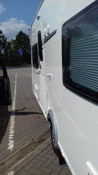Damaged caravan insurance claim