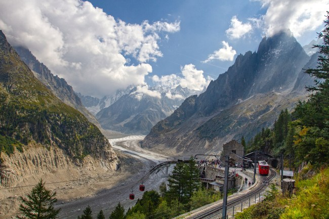 Chamonix Haute Savoie, France