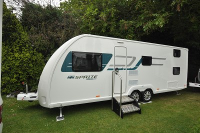 2019 Swift Sprite Super Quattro DB caravan