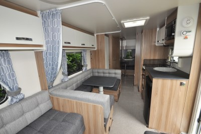 2019 Swift Sprite Super Quattro DB caravan interior