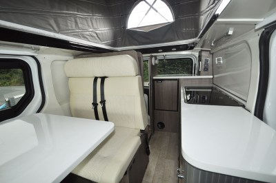 2019 Randger R535 campervan interior