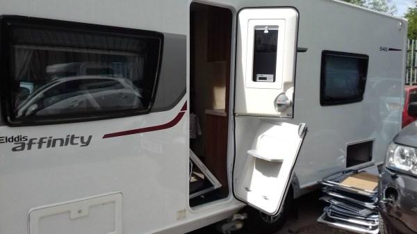 Caravan insurance claim