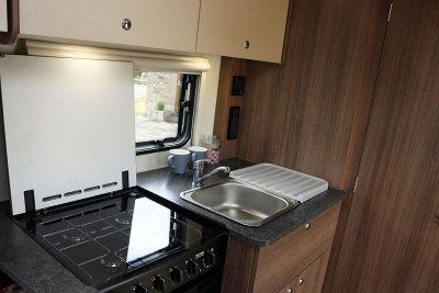 2019 Bailey Phoenix 420 caravan kitchen
