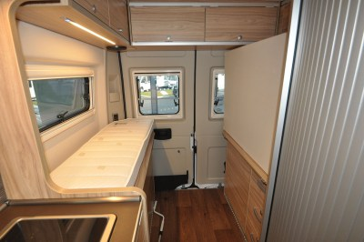 2019 HymerCar Ayers Rock Crossover campervan interior