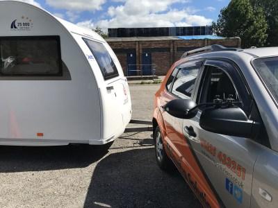 reversing your caravan