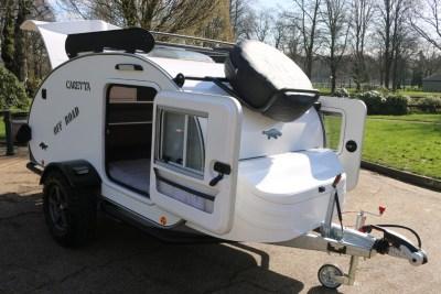 Carette 1500 caravan exterior spare wheel