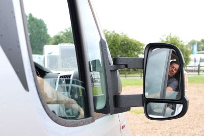 Get a clear view when reversing your motorhome