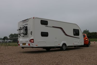 Give yourself plenty of room reversing your caravan
