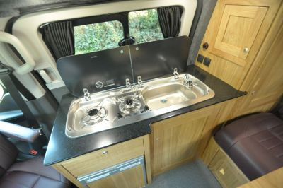 Rolling Homes Kingsley Campervan Kitchen