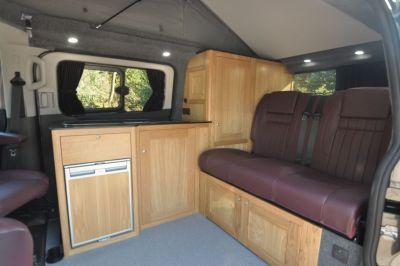 Rolling Homes Kingsley Campervan lounge seating