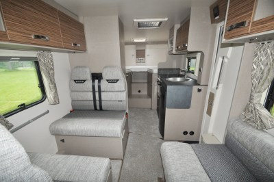 2020 Swift Edge 476 motorhome interior