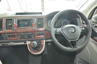 2019 VW Caravaggio campervan cab