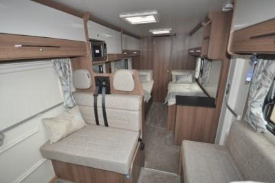 Bailey Advance 764T interior
