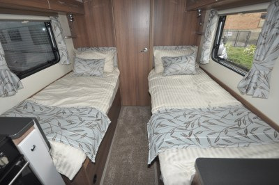 Bailey Advance 764T twin beds