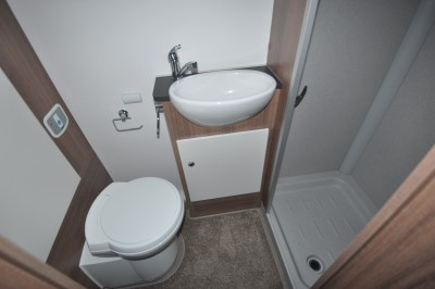 Bailey Advance 764T washroom