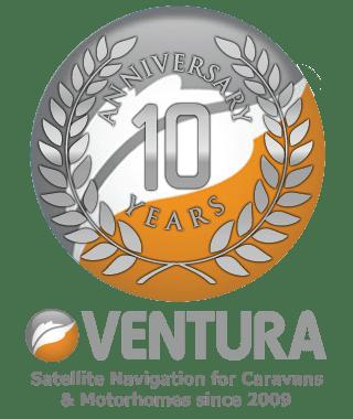 ventura10 year anniversary logo