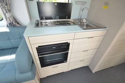 2020 Adria Altea Dart 62 DP caravan kitchen