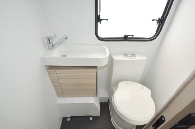 2020 Adria Altea Dart 62 DP caravan washroom