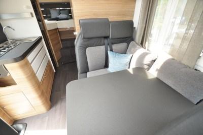 2020 Adria Sonic Axess 600 SL motorhome travel seats
