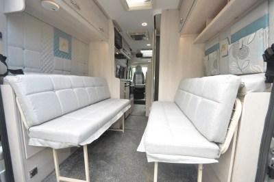 2020 Auto-Sleeper Fairford Plus motorhome seating