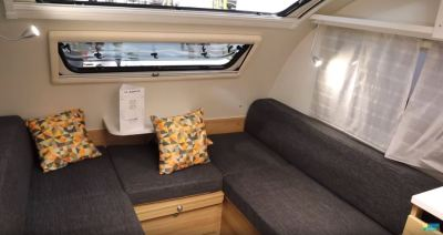 Adria Action two berth caravan internal