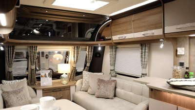 Coachman VIP 460 two berth caravan