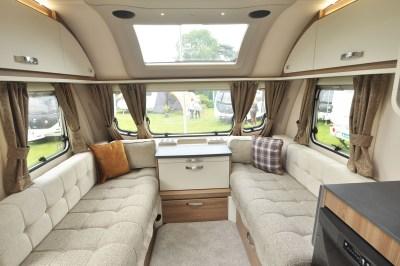 2020 Swift Sprite Super Quattro EB caravan lounge
