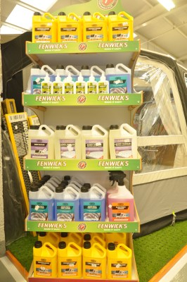 Fenwick's Caravan Cleaning Products