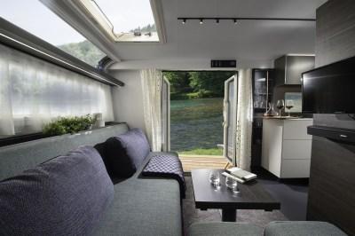 2020 Adria Astella caravan lounge