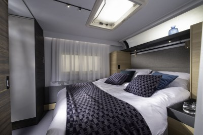 2020 Adria Astella caravan bedroom
