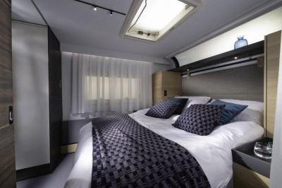 2020 Adria Astella caravan bedroom