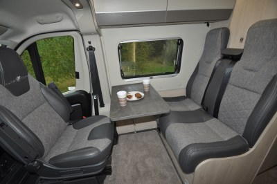 2020 Auto-Trail Adventure 65 campervan front lounge