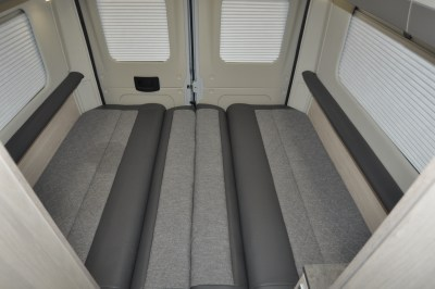 2020 Auto-Trail Adventure 65 campervan rear lounge