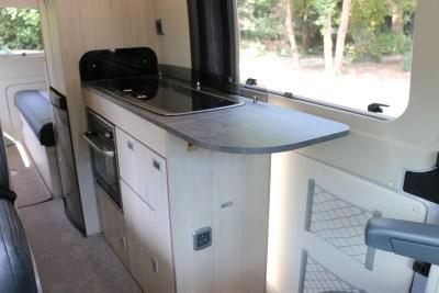 2020 Auto-Trail Adventure 65 campervan kitchen