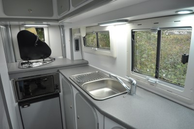 2020 Murvi Pimento XL motorhome kitchen